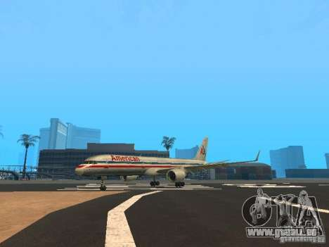 Boeing 757-200 American Airlines für GTA San Andreas