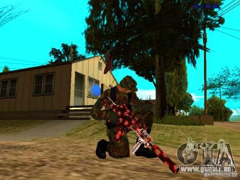 Trollface weapons pack für GTA San Andreas zweiten Screenshot