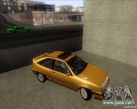 Chevrolet Kadett GSi 2.0 (1991-1995) pour GTA San Andreas vue de droite