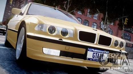 BMW 750i v1.5 für GTA 4-Motor
