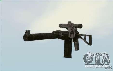 Comme fusil d'assaut de Val pour GTA San Andreas