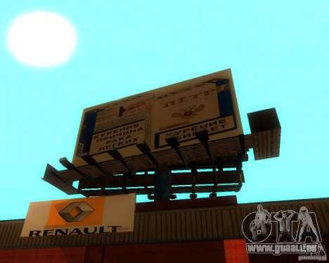 New Garage Painting für GTA San Andreas dritten Screenshot