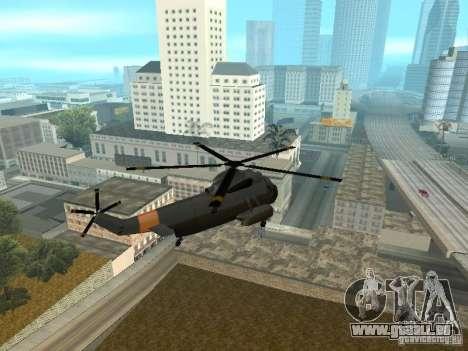 Enterable Leviathan pour GTA San Andreas vue de droite