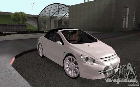 Peugeot 307CC BMS pour GTA San Andreas