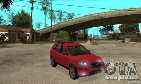 Hyundai Santa Fe für GTA San Andreas Rückansicht
