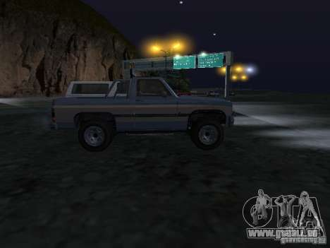 Éleveur de GTA 4 pour GTA San Andreas vue arrière