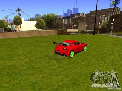 Mazda RX-8 R3 Tuned 2011 für GTA San Andreas linke Ansicht