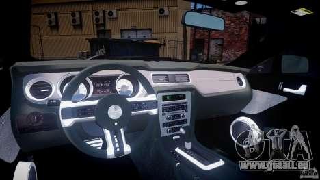 Ford Mustang V6 2010 Premium v1.0 pour GTA 4 est un droit