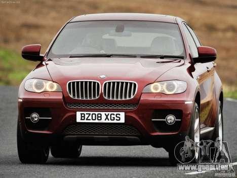 Écrans de chargement BMW X 6 pour GTA San Andreas sixième écran
