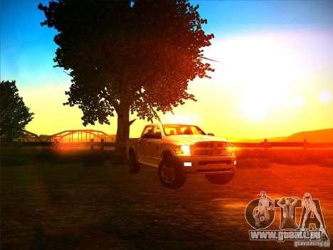 Dodge Ram Heavy Duty 2500 für GTA San Andreas Rückansicht