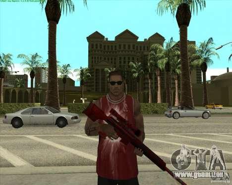 Blood Weapons Pack für GTA San Andreas dritten Screenshot