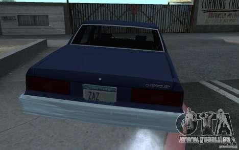1983 Chevrolet Impala für GTA San Andreas linke Ansicht