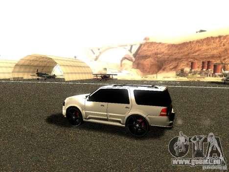 Ford Expedition 2008 pour GTA San Andreas sur la vue arrière gauche