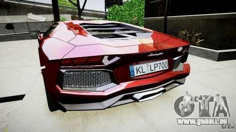 Lamborghini Aventador LP700-4 für GTA 4 rechte Ansicht