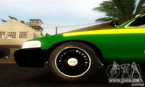 Ford Crown Victoria Vermont Police für GTA San Andreas rechten Ansicht