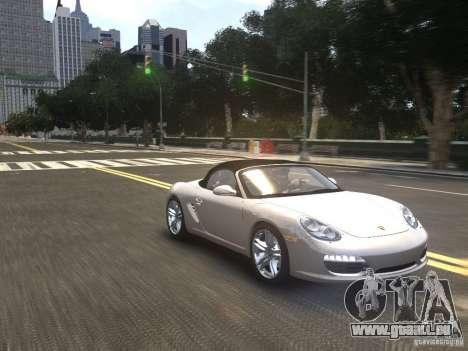 Porsche Boxster S 2010 EPM für GTA 4 Rückansicht