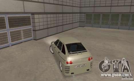 LADA 2112 Tuning (F) pour GTA San Andreas sur la vue arrière gauche