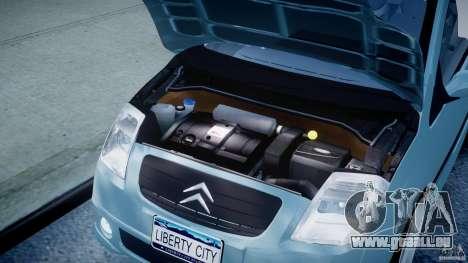Citroen C2 Light Tuning [Beta] für GTA 4 rechte Ansicht