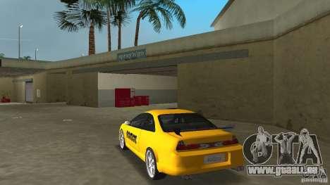 Honda Accord Coupe Tuning pour GTA Vice City sur la vue arrière gauche