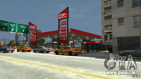 New gas station für GTA 4 dritte Screenshot