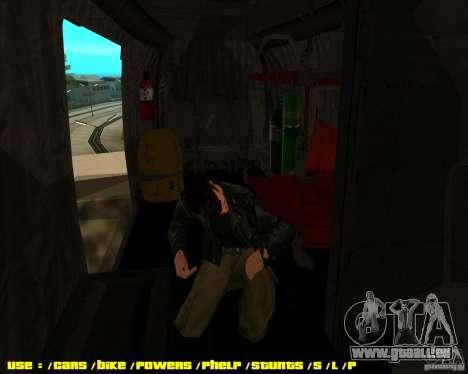 SH-3 Seaking pour GTA San Andreas vue de droite