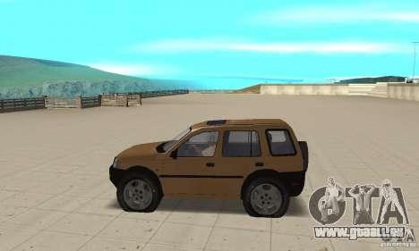 Land Rover Freelander KV6 pour GTA San Andreas laissé vue