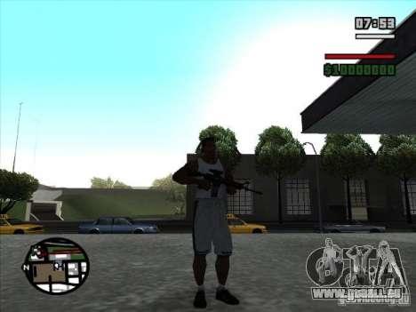 I AM Legend M4A1 pour GTA San Andreas deuxième écran