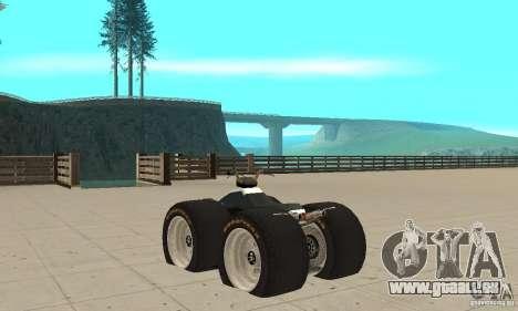 QUAD BIKE Custom Version 1 pour GTA San Andreas sur la vue arrière gauche