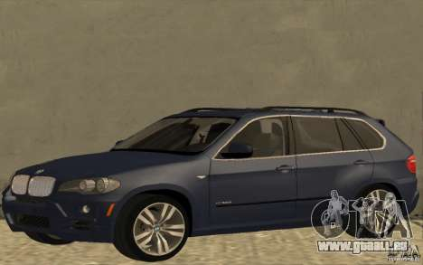 BMW X5 M 2009 für GTA San Andreas