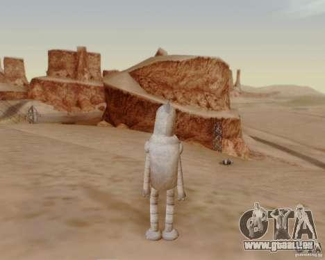 Futurama für GTA San Andreas fünften Screenshot
