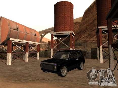 VAZ 2121 Tuning für GTA San Andreas zurück linke Ansicht