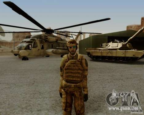 Tom Clancys Ghost Recon für GTA San Andreas fünften Screenshot