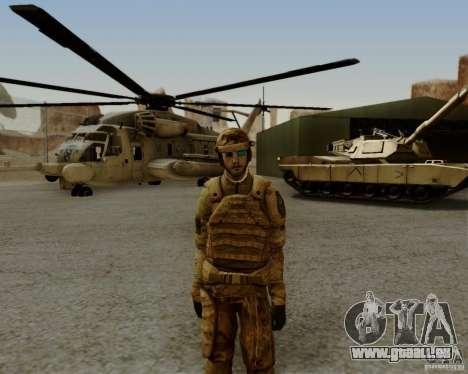 Tom Clancys Ghost Recon pour GTA San Andreas cinquième écran