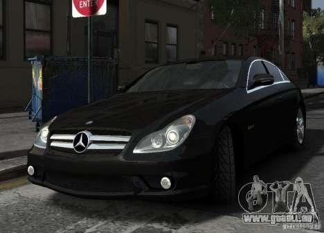 Mercedes-Benz CLS 63 AMG für GTA 4 Innenansicht