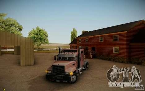 Mack Pinnacle Rawhide Edition pour GTA San Andreas laissé vue