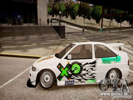 Ford Escort RS Cosworth 1992 für GTA 4 linke Ansicht