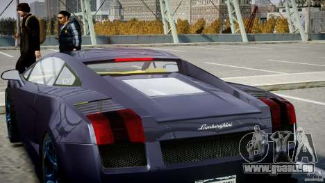 Lamborghini Gallardo Superleggera pour le moteur de GTA 4
