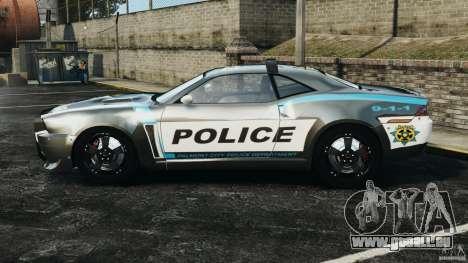 NFSOL State Police Car [ELS] für GTA 4 linke Ansicht