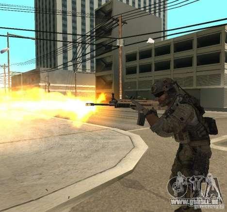 Frost and Sandman für GTA San Andreas fünften Screenshot