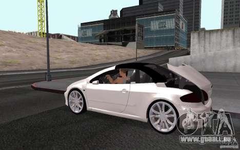 Peugeot 307CC BMS pour GTA San Andreas moteur
