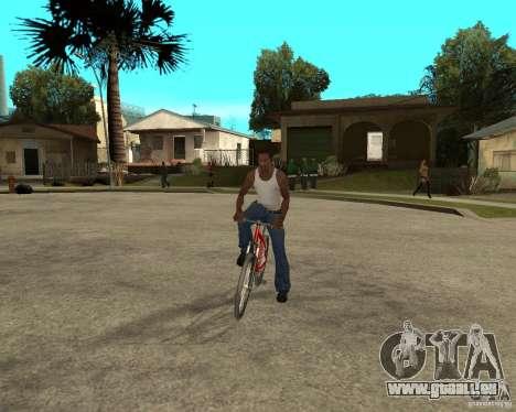Kona Cowan 2005 pour GTA San Andreas vue arrière