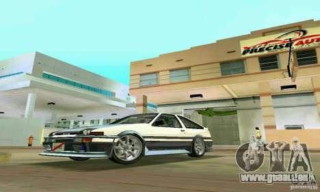 Toyota Trueno AE86 4type pour GTA Vice City