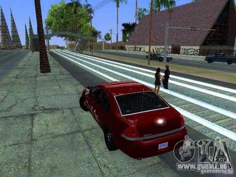 Chevrolet Impala Unmarked pour GTA San Andreas vue de droite