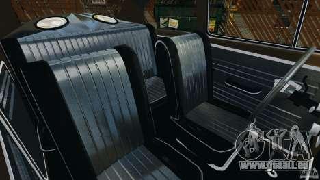 Volkswagen Fusca Gran Luxo v2.0 pour GTA 4 est une vue de l'intérieur
