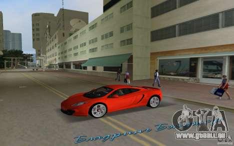 Mclaren MP4-12C für GTA Vice City