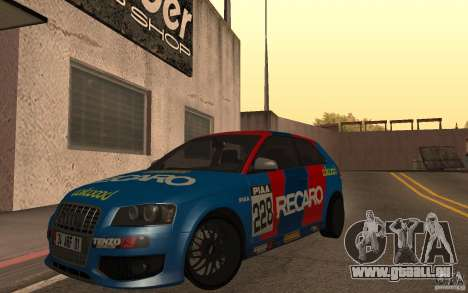 Audi S3 Tunable pour GTA San Andreas