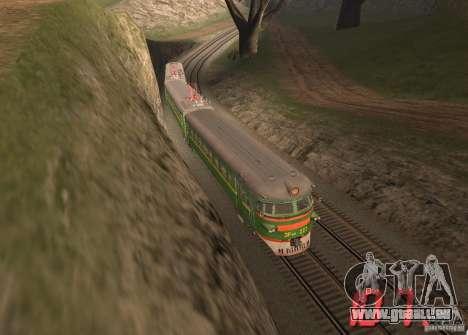 Indicateur de vitesse numérique pour GTA San Andreas troisième écran