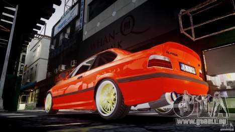 BMW E36 Alpina B8 für GTA 4 Innen