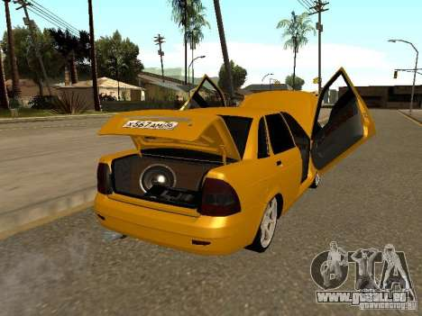 LADA Priora 2170 pour GTA San Andreas vue de côté