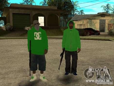 Neue Familie für GTA San Andreas
